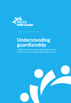 Office of the Public Guardian - Understanding guardianship