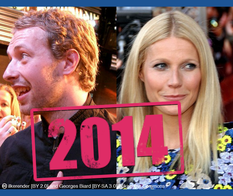 Image of Gwyneth Paltrow and Chris Martin