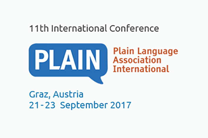 The 11th International PLAIN Conference was a great success.