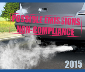 2015 - Possible emissions non-compliance